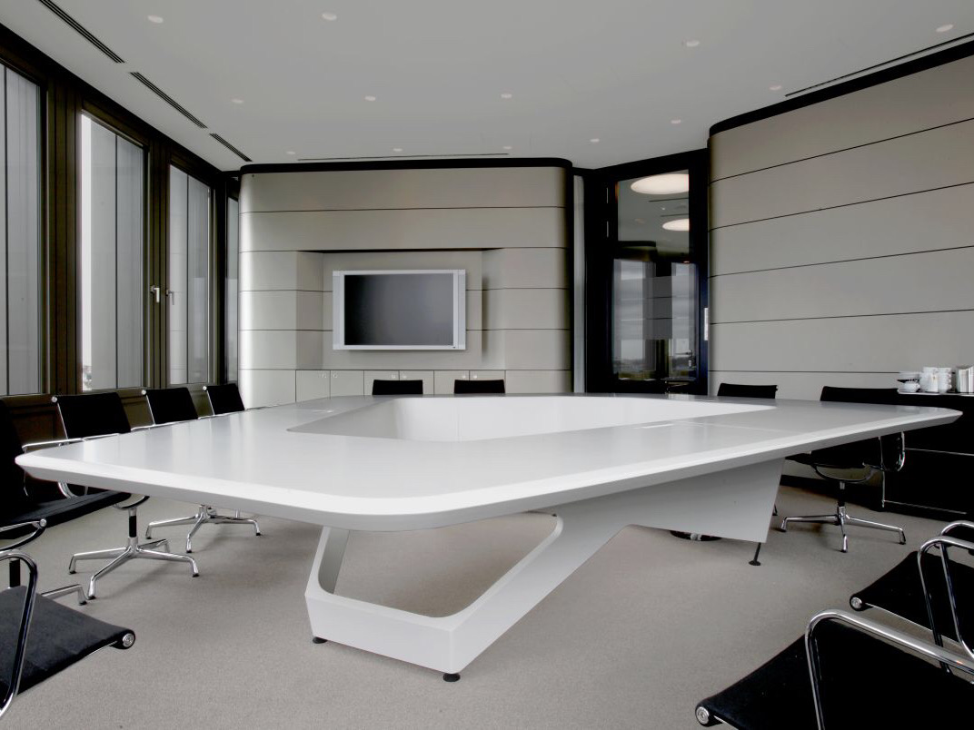 Polygon Shape Luxury Conference Table