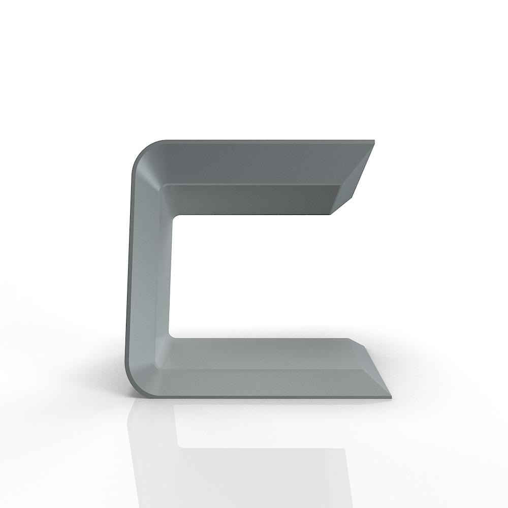C-shaped interative media