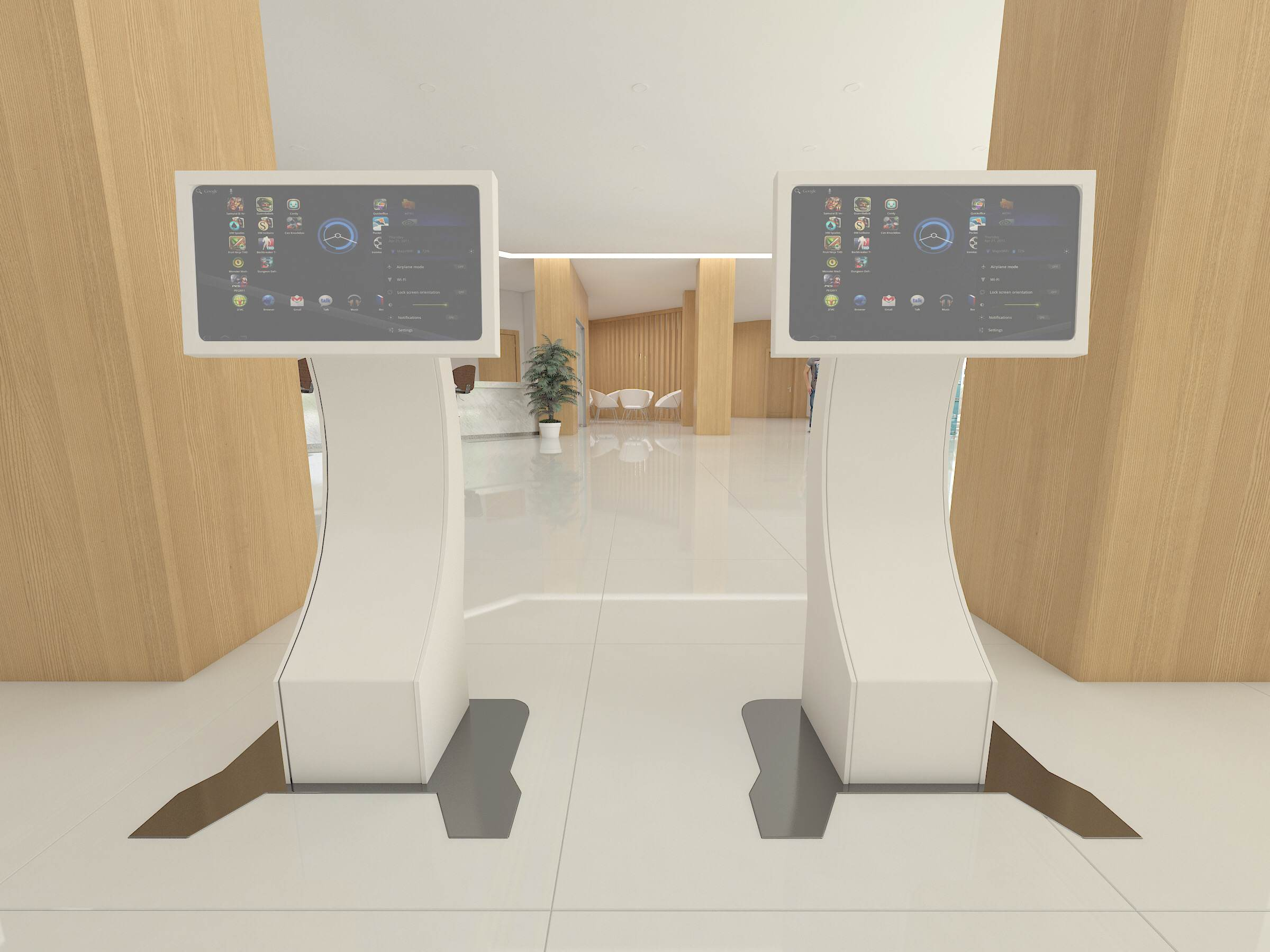 Stand-alone interactive media