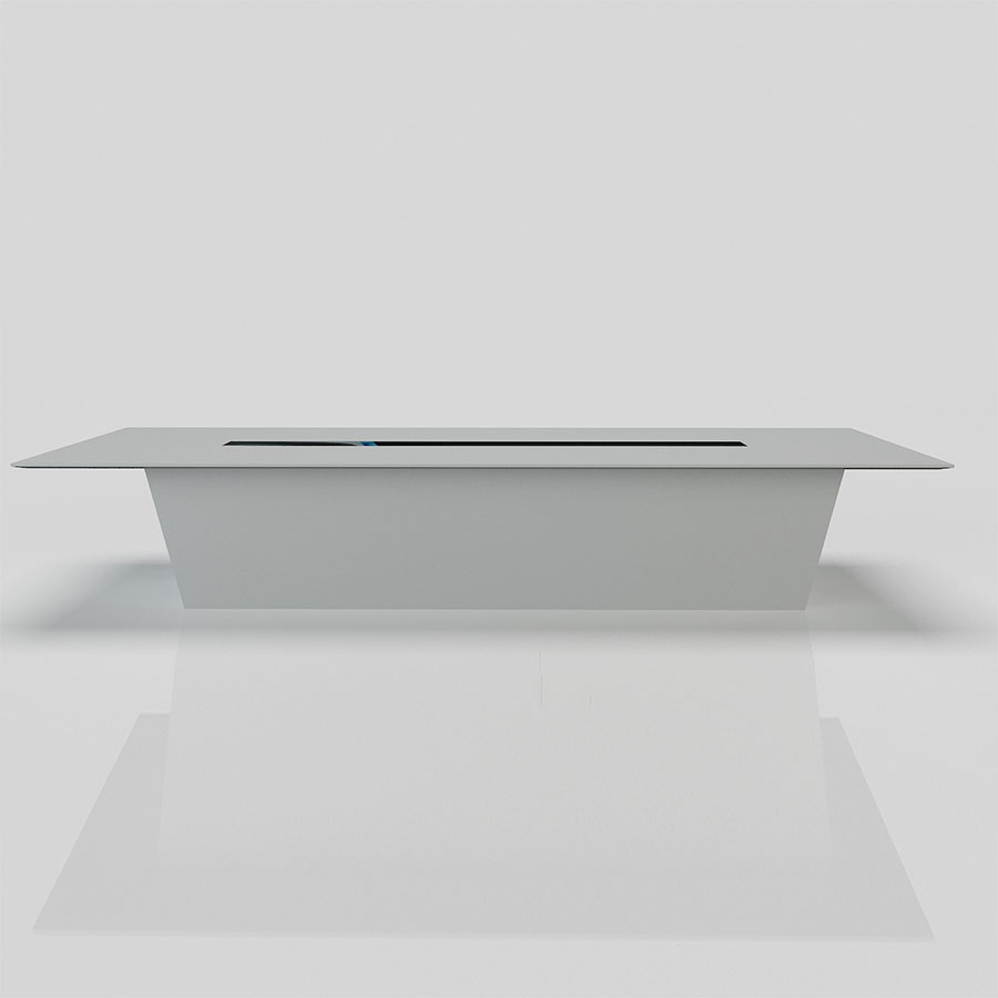 White Solid Surface Feet