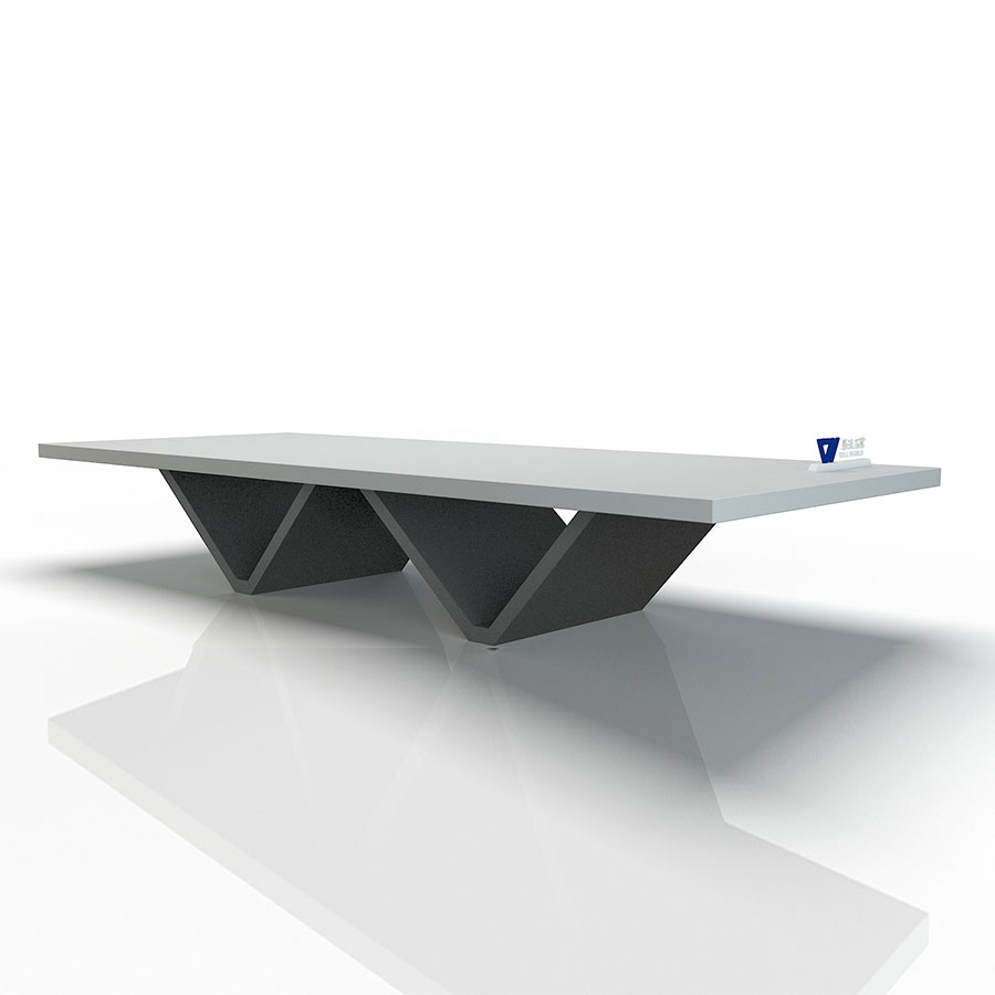 Triangular Stand Conference Table